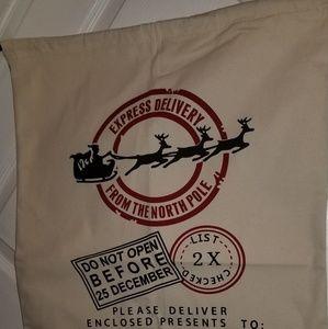 Handbags - Personalized Santa bag